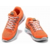 China Wholesale 2013 Nike Flyknit Lunar 4 Orange Blue White Dark Green for sale