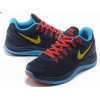 China Texture 2013 Nike Flyknit Lunar 4 Dark-Red Blue Yellow Blue for sale