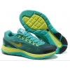 China New Discount 2013 Nike Flyknit Lunar 4 Lake Green Blue Black Yellow for sale