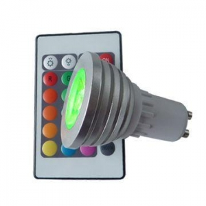 China LED GU10 base GU10 RGB LED BULB-Chinalightbulbs on sale