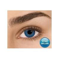 Brilliant Blue Non Prescription Coloured Contacts - Freshlook Colorblends