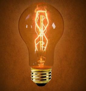 China Vintage Bulbs A19 40W E27 Antique Light Bulb on sale