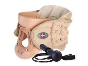 China Health Care Products BC-0920 Air Inflatable Professional Cervical Traction Collar on sale