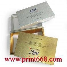 China Rigid Cosmetic Packaging Custom Boxes Printing Service Online with OEM / ODM design on sale