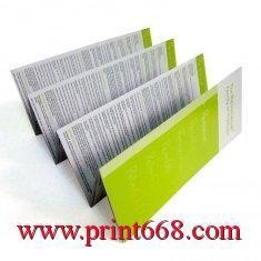 China Promotional customized Full Colour Leaflet Colour Flyer Printing Services for advertising on sale