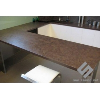 Tops/Sinks/Tray Coffee Sandstone Counter-top and Vanity top