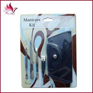 China Manicure Tools pedicure kit with a bag in a Blister Card set blca-041 on sale