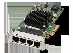 China Sun Quad Port PCIe 2.0 Gigabit Ethernet Networking Cards on sale