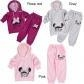 China CUTE Kid Sports Wear Baby Clothing Outfit Girls Sport Suit Clothes Pants 3-9Y on sale