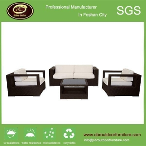 China Modern synthetic rattan outdoor furniture outdoor rattan furniture sofa on sale