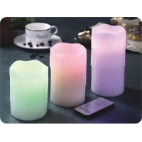 China ITEM:12401 3pcs of Remote Control LED Candles on sale