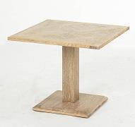 China Vintage Wood Furniture oak square table on sale