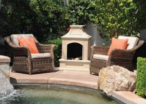 China Item: 6218 Propane/ Gas Fire pit on sale