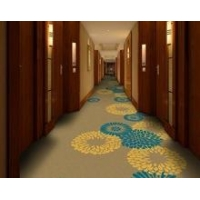 China Hotel Carpet Wool blended Nylon Material Hotel Corridor Carpet on sale