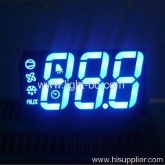 China ODM Ultra blue 3 digit 7 segment led display for refrigeration control on sale