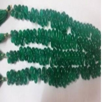 Green Onyx Smooth Tear Drops Product Code: 408 Availability: In Stock
