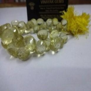 China Lemon Quartz Cut Onion Shape on sale