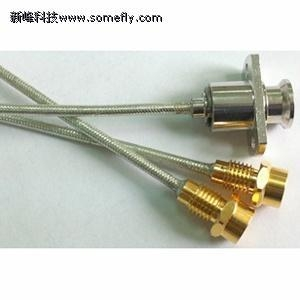 China Indoor RF Connectors Semi-flexible cable assembly on sale