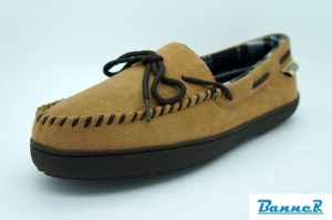 China Banner Men Moccasin Slippers-16M06J01001 on sale