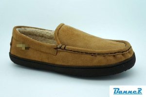 China Banner Men Moccasin Slippers-16M06J01002 on sale