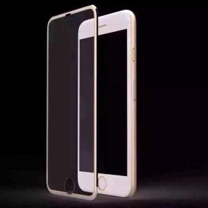 China Titanum Colored Temper Glass Screen Protector for iPhone 6 on sale