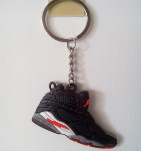 China 2d flat nike jordan shoe key chain on sale