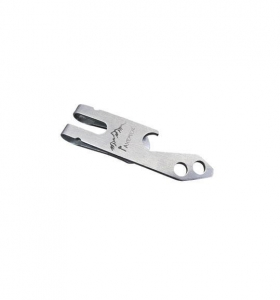 China Stainless Steel Multi-function Tool Belt Money Key Chain Clip Bottle Opener on sale
