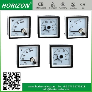 China Panel Meter Voltmeter on sale