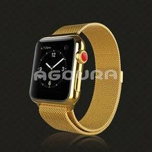 China For apple watch milanese loop band,stainless steel band for apple watch,for apple watch luxury band on sale