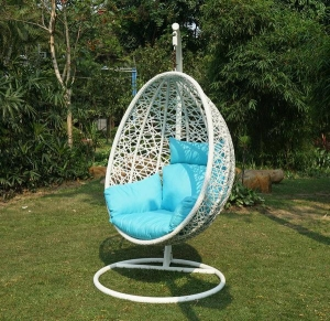 China wicker egg shape hanging chair 15023 Product ID:15080810130250 on sale