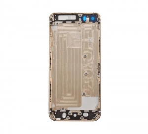 China Replacement Part for Apple iPhone 5S Rear Housing with Top and Bottom Glass Cover - Gold - A Grade on sale