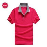 2015 New arrival Soild POLO Shirts Men shirt Breathable Short Sleeve Grey Collar Casual