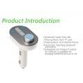 China Latest T9 A2dp Bluetooth FM Transmitter MP3 USB Car Charger on sale