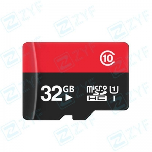 China Red and black design 32GB class 10 micro sd cardID: ZYF6013 on sale