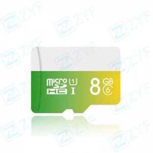 China Colorful design 8GB class 6 micro sd memory card on sale