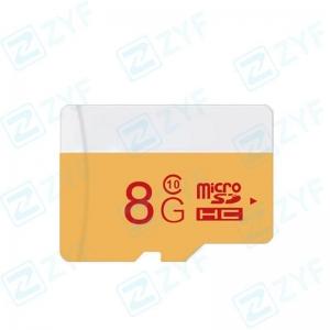 China White and yellow design 8GB class 10 micro sd memory card on sale