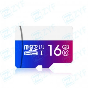 China Colorful design 16GB class 10 micro sd memory card on sale
