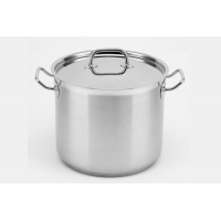 China Stainless steel stockpot with large capacity on sale