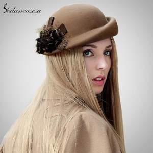 China Fashion Floral Beret For Women FW122003 on sale