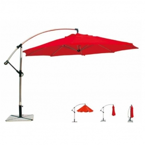 China Parasol Item CA-A3 Heavy Duty Alu. Banana Umbrella on sale