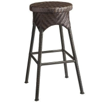 Outdoor La Cena Mocha Swivel Bar Stool