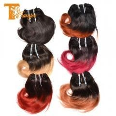 China Ombre Peruvian Virgin Hair Extensions Body Wave 4 Bundles Human Hair Weft Ombre Hair Weave on sale
