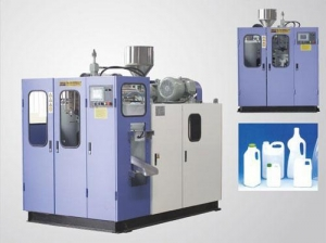 China HST-2L Fully automatic extrusion blow moulding machine(Single station) on sale