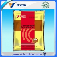 Concentrated cod liver oil
