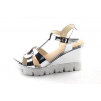 sandals Comfortable Women Platform Sandal with Reflecting Upper