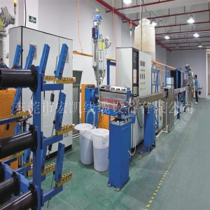 China Fiber optic cable machine soft optical cable production line on sale