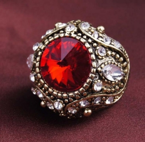 China RGXX-15086 Semi-Precious Stones Rings on sale
