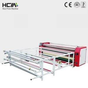 China automatic rotary sublimation heat transfer machine on sale