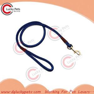 China RW-L0028 nylon rope dog leash on sale