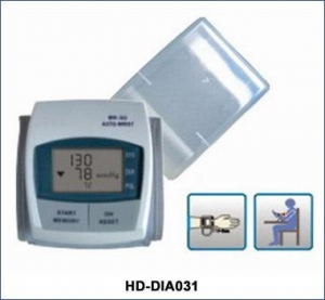 China Diagnostics HD-DIA031Wrist Digital Sphygmomanometer on sale